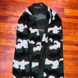 Material Girl, Camouflage Cardigan
